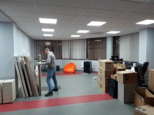 Офисный переезд с грузчиками